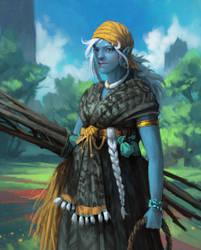 An Obbe Woman by Xyrlei