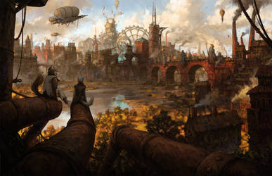 Steampunk City
