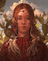 Chantal Horeis Redraw by Xyrlei