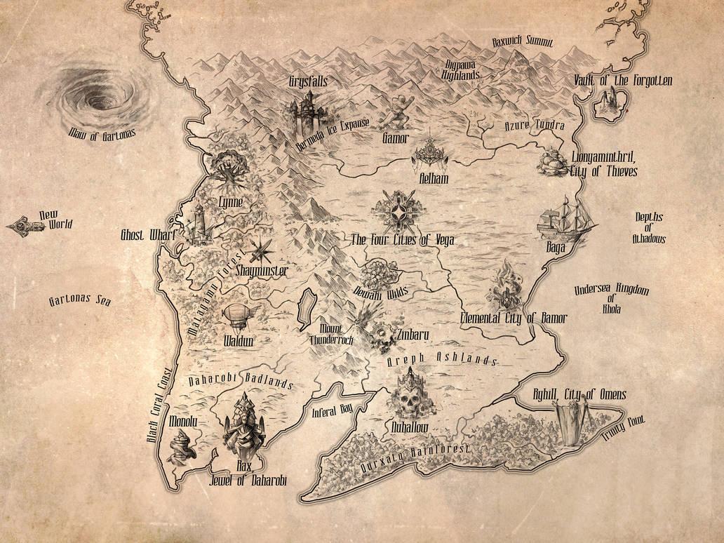 Map of Ralduxi by Xyrlei