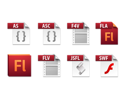 flash cs5 file icons by dabbex30