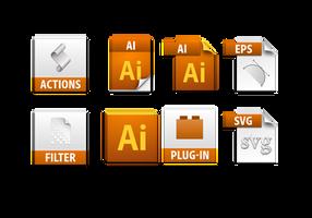 illustrator cs5 file icons by dabbex30