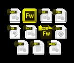 fireworks cs6 file icons
