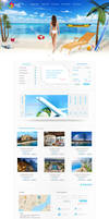 Travel Agent Site Interface_by dabbexsahi