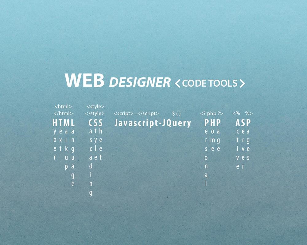 Web designer code tools wallpaper by dabbex30