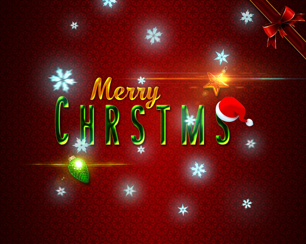 Merry-Chrstms-Letters-1280x1024px by dabbex30