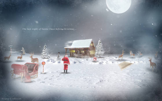 The Last Night Of Santa Claus Before Christmas