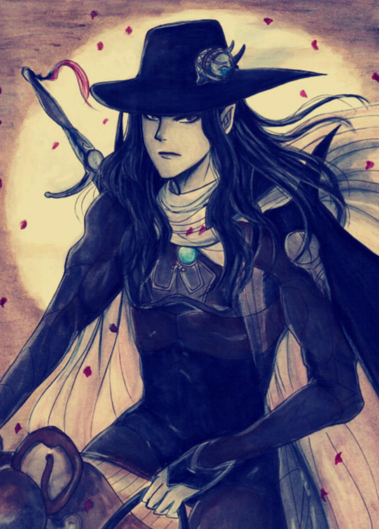 Vampire Hunter D by KziraLee