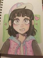 Watercolor Practice by KittyKatsune