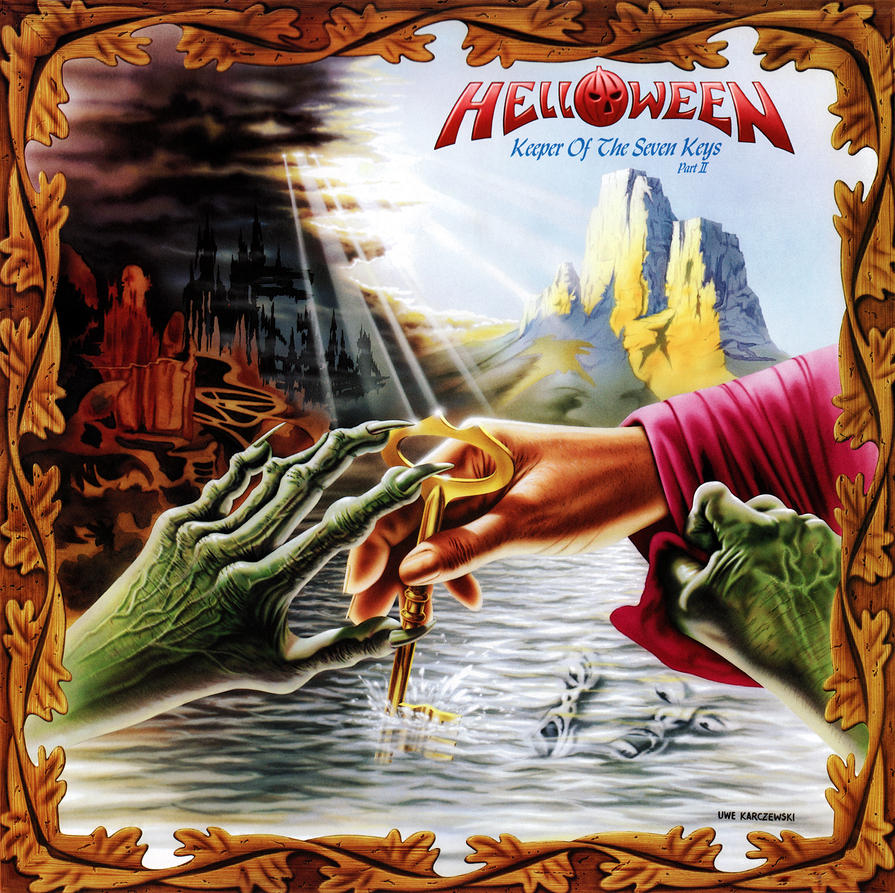 helloween keeper of the seven keys dvd