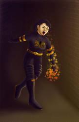Fatigued Butterfly Hero by cha-ji