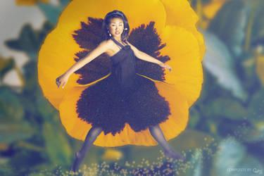 Flower Girl by cha-ji