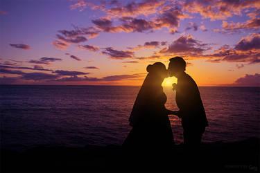 Wedding Kiss by cha-ji