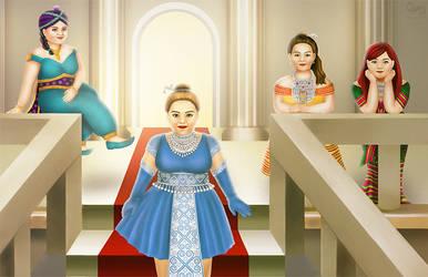 Hmong Princesses by cha-ji