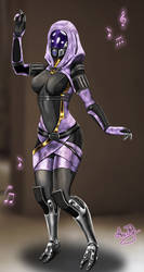 Tali'Zorah Dance by AriaJR