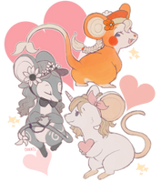 mice by doekis