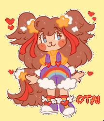 Happy Rainbow Papillon OTA - OPEN! by doekis