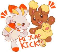Hi Jump Kick!!