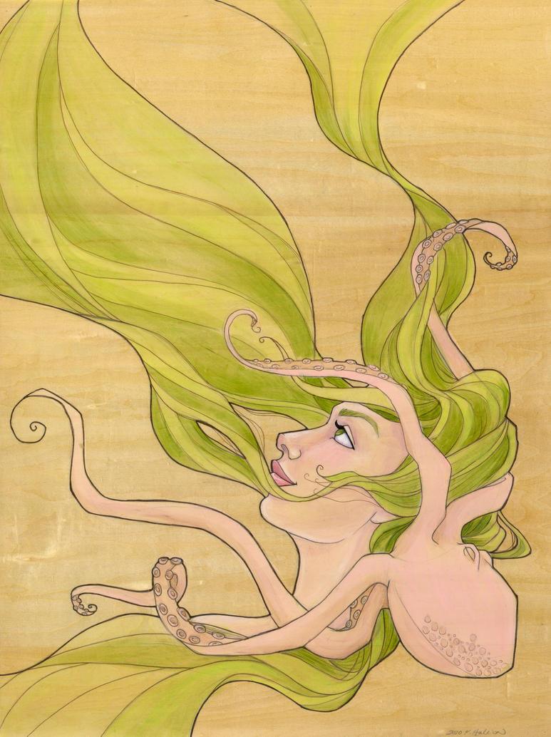 The Octopus Mermaid Series, 5 by khallion