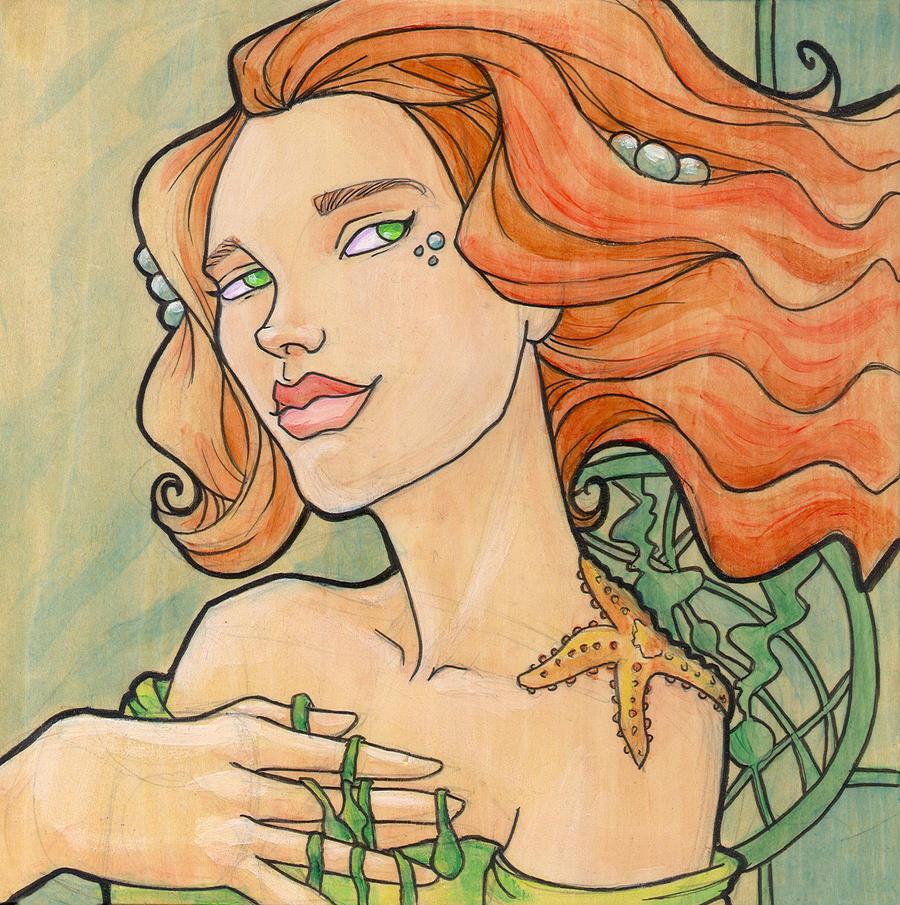 Tattooed Mermaid 11 by