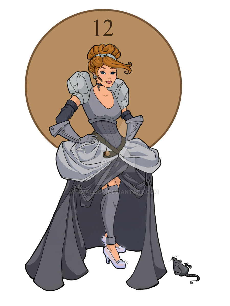 Steampunk Cinderella by khallion