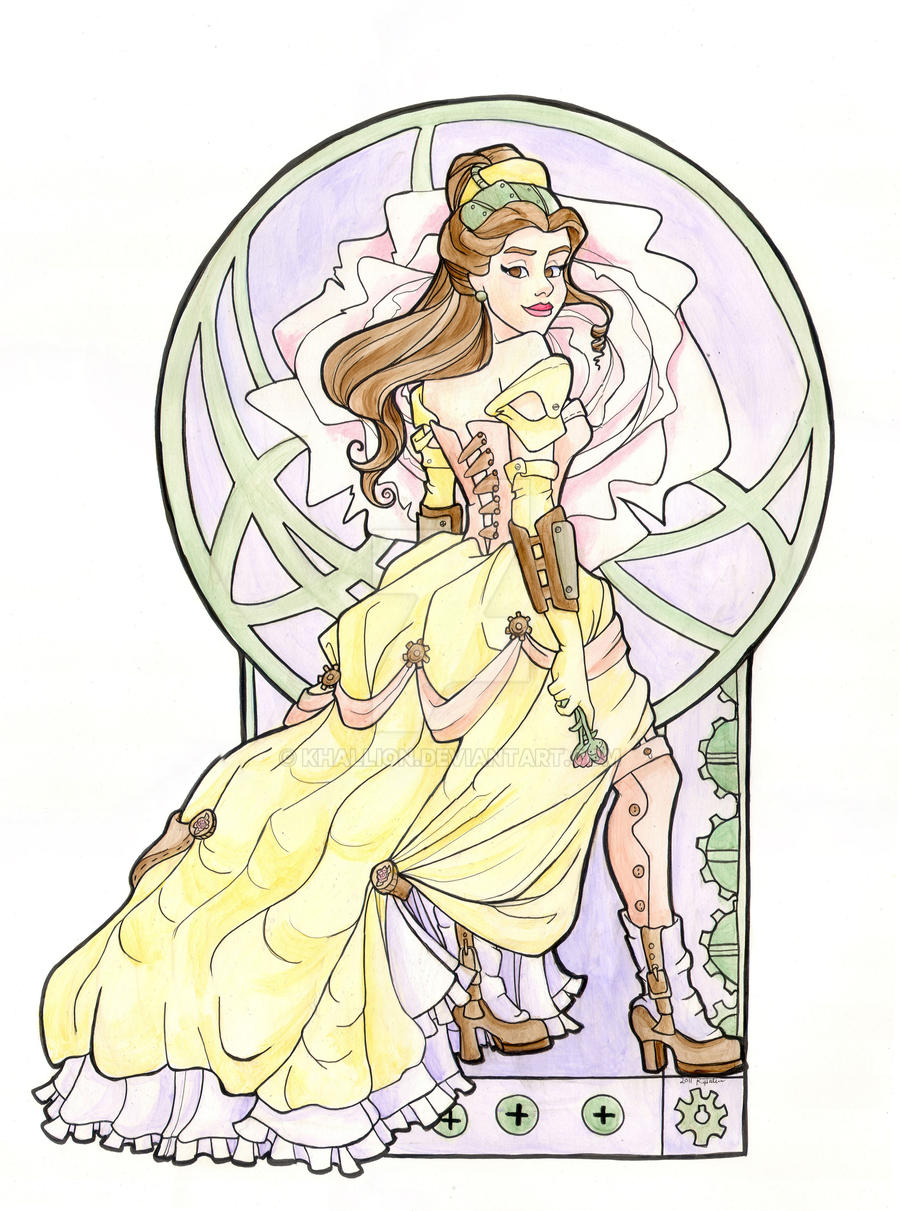 Steampunk Belle by khallion