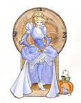 Steampunk Cinderella Acrylic
