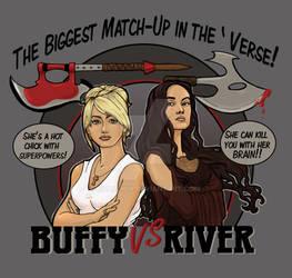 Buffy vs River