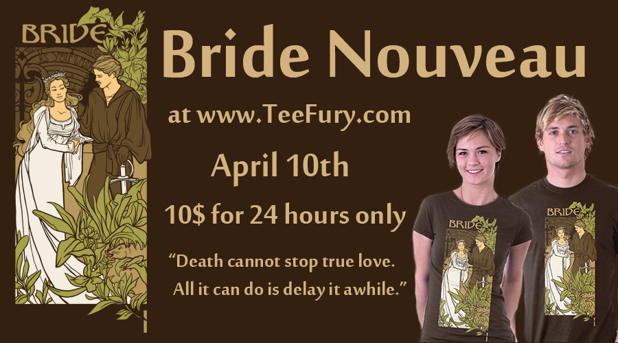 Tee Fury Bride Nouveau by khallion