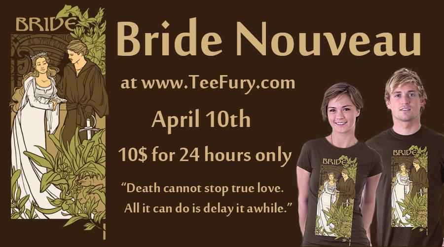 Tee Fury Bride Nouveau by khallion