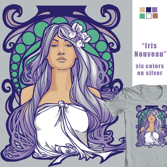Iris Nouveau by khallion