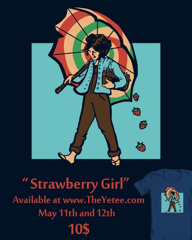 Strawberry Girl sale by khallion