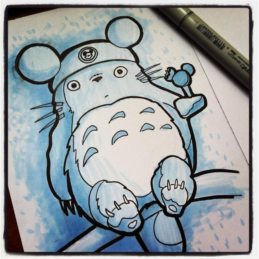 WDW Totoro by khallion
