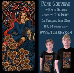 Pond Nouveau on Tee Fury