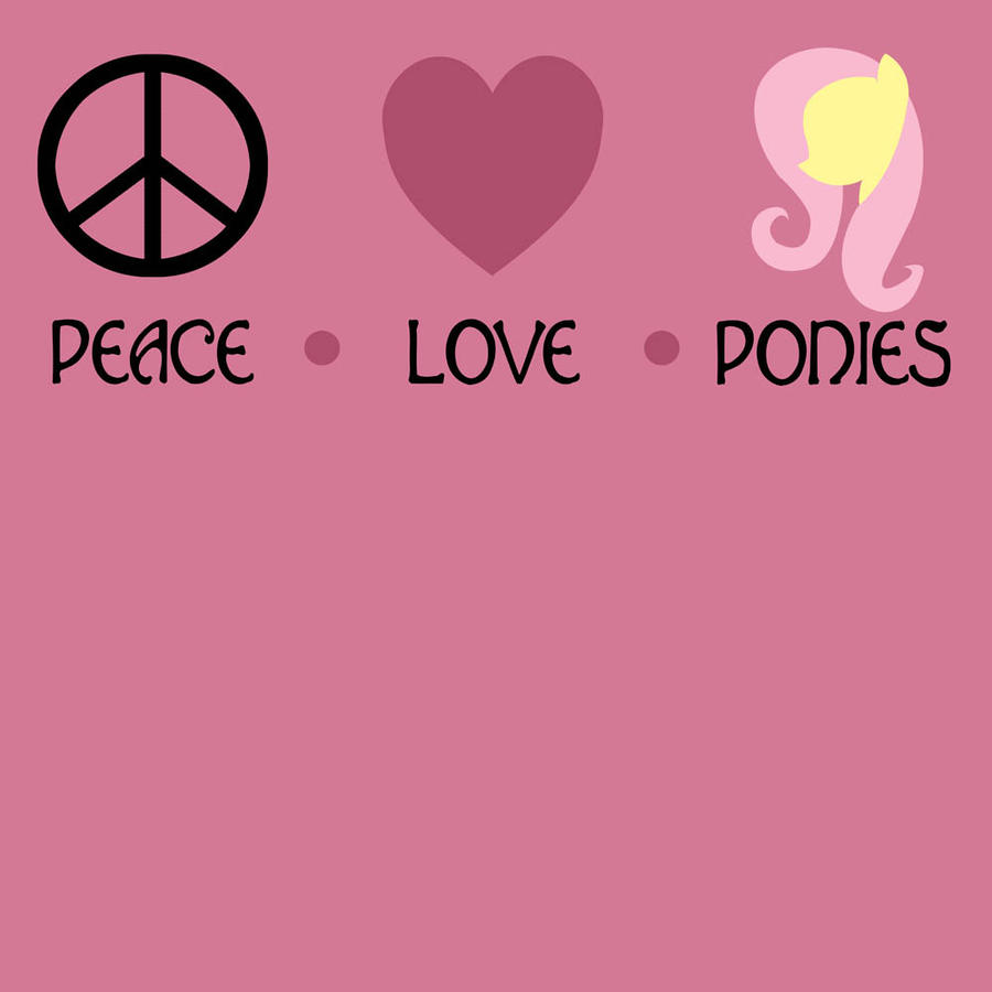 Peace, Love, and Ponies by khallion