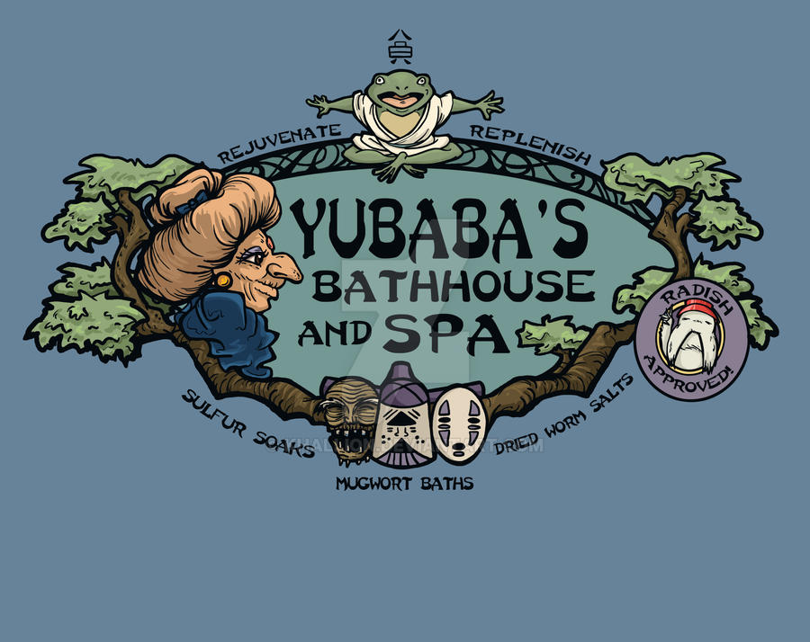 Yubaba's Bathhouse by khallion
