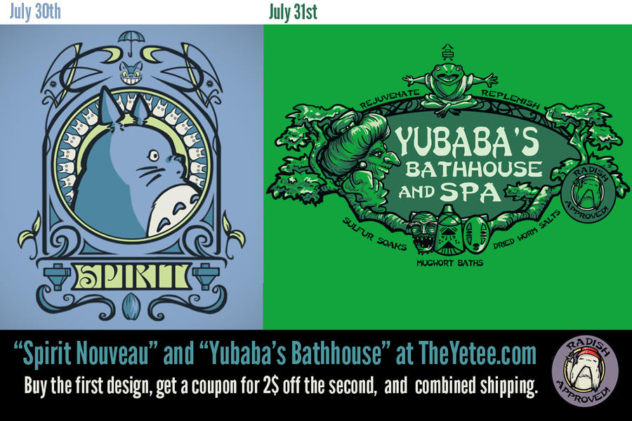 2 Designs on the Yetee by khallion