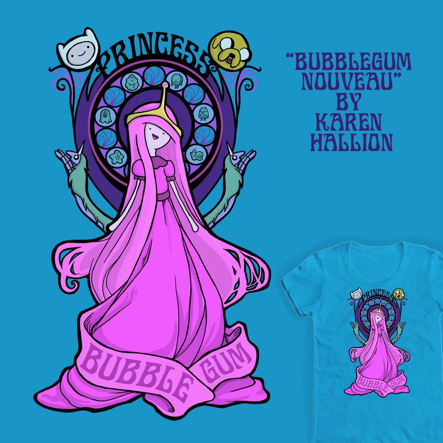 Bubblegum Nouveau by khallion