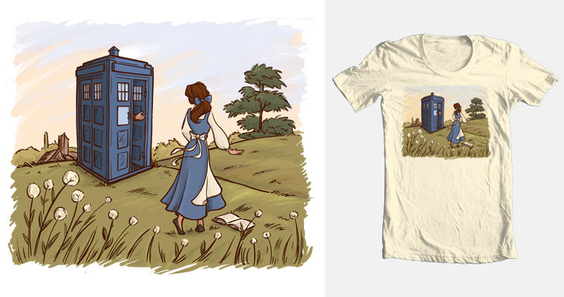 Adventure Awaits Threadless Submission by khallion