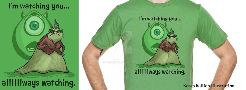 Watching. Alllllways Watching. by khallion