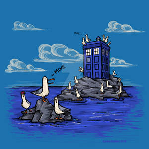 The Seagulls Have the Phonebox