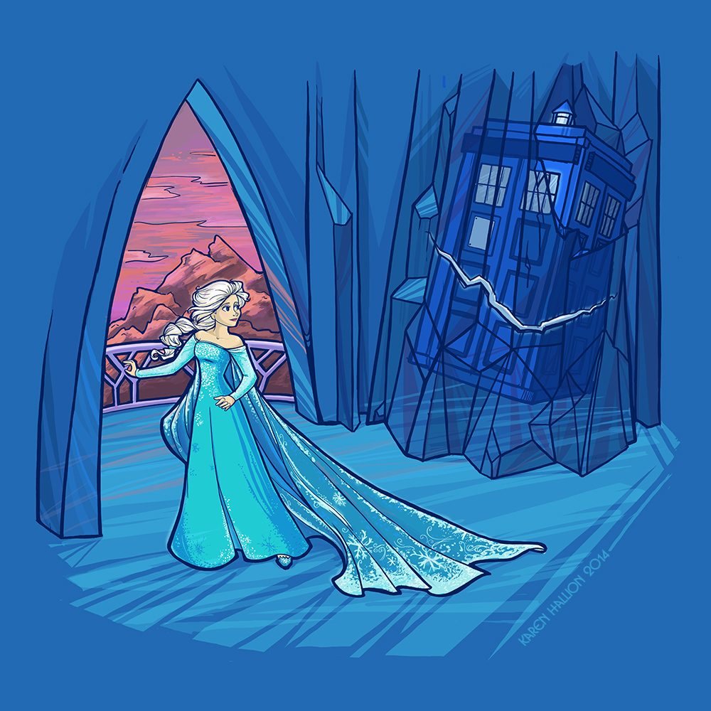 Frozen in Time and Space by khallion