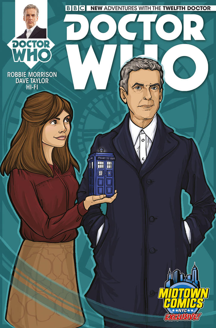 Doctor Who Variant by khallion