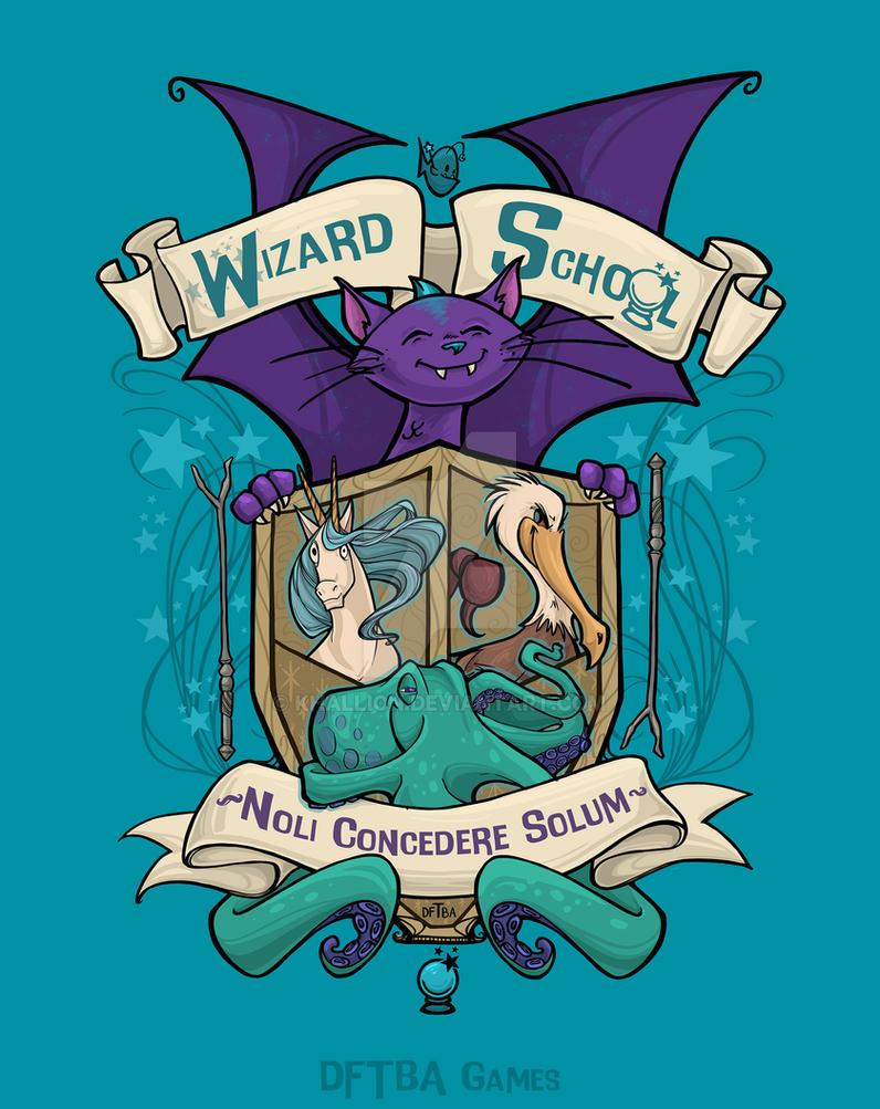 Wizard School by khallion