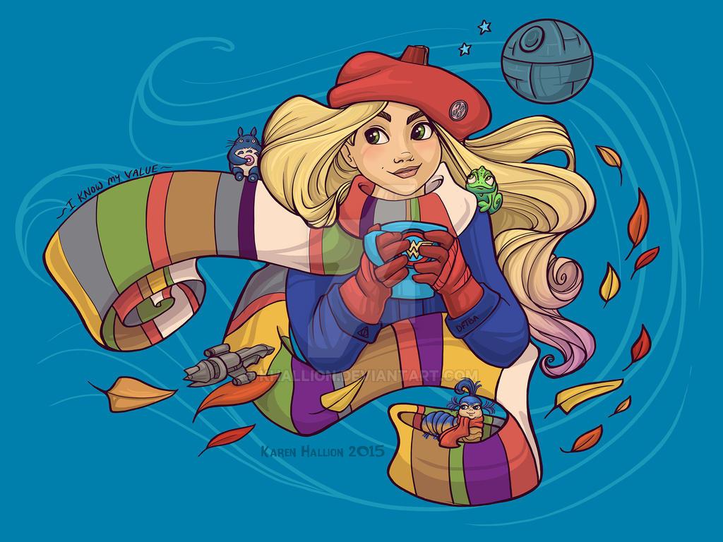 Geek Girl by khallion
