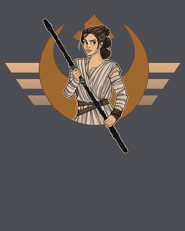 Resistance Rey by khallion