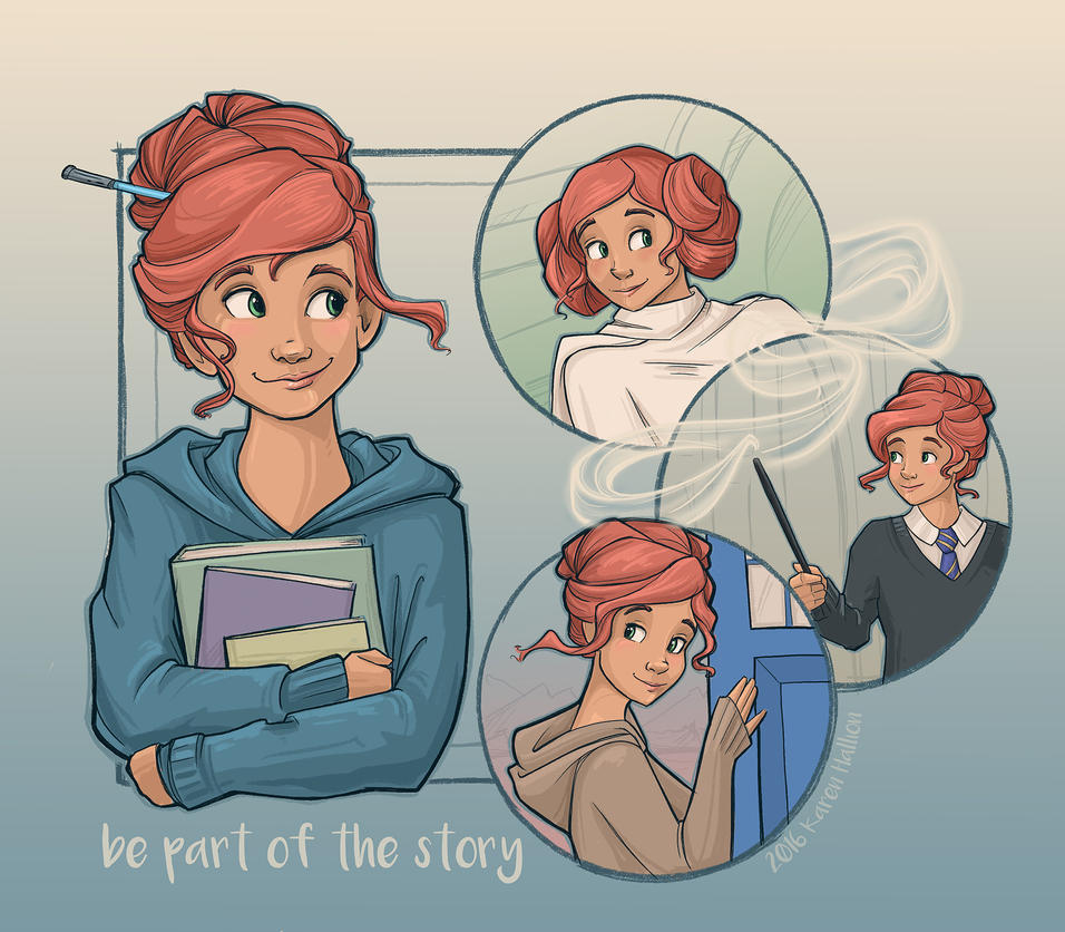 Be Part of the Story by khallion