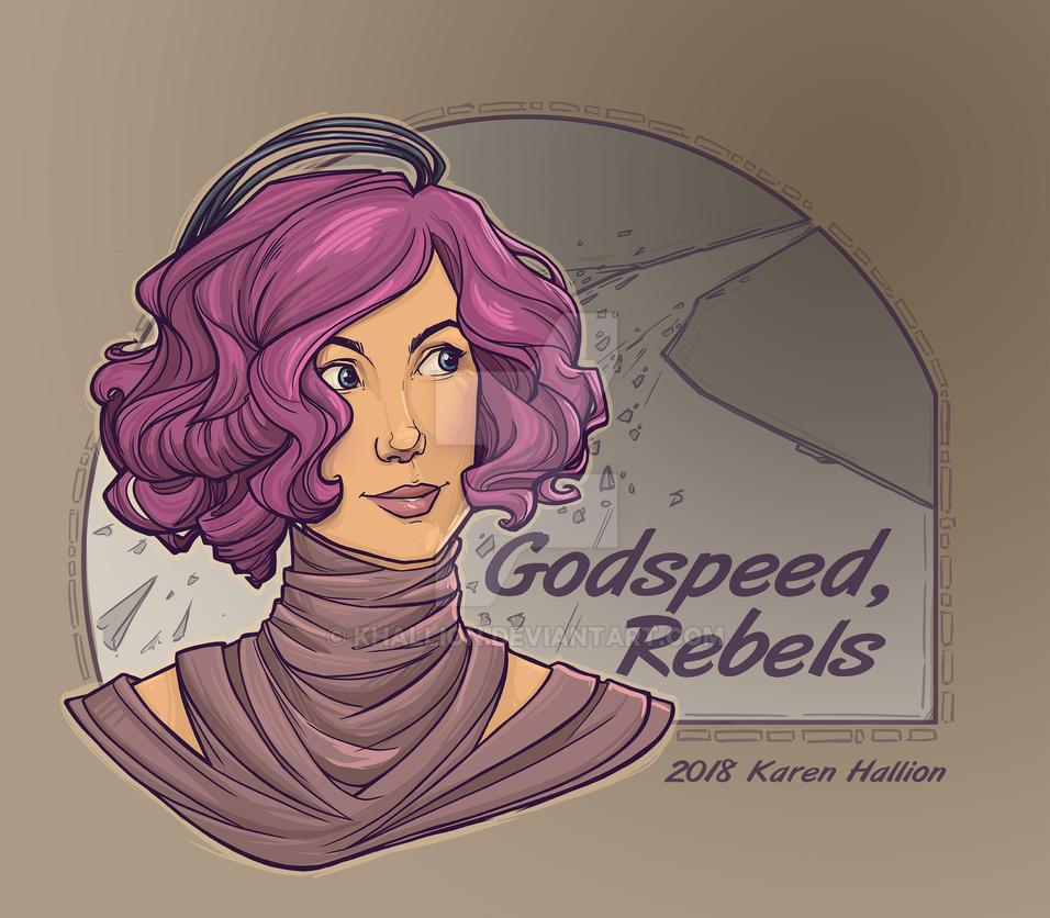 Godspeed, Rebels by khallion