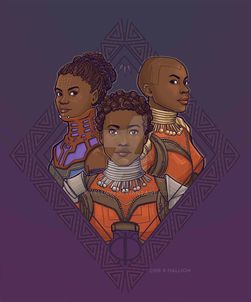 Wakandan Women by khallion
