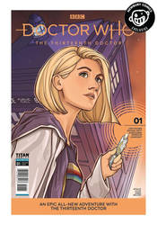 Newbury Comics variant cover: Doctor Who by khallion